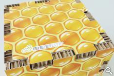 beelite carton nid d'abeilles