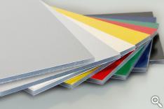 plaques sandwich en aluminium